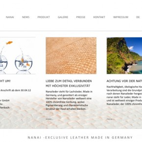 NATURE FIRST! EXKLUSIVES CORPORATE DESIGN FÜR EINE INNOVATION