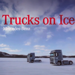 WE LOVE IT BIG! MERCEDES-BENZ TRUCKS AND CARS ON ICE – IMAGEFILM FÜR 2014