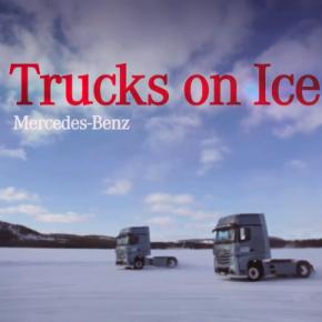 WE LOVE IT BIG! MERCEDES-BENZ TRUCKS AND CARS ON ICE – IMAGEFILM FÜR 2014