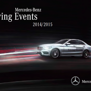 READY, SET, GO! DER NEUE MERCEDES-BENZ DRIVING EVENTS KATALOG 2014/2015