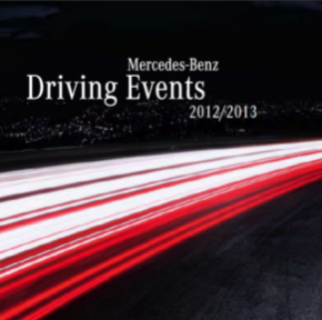 MERCEDES-BENZ DRIVING EVENTS 2012 - THE BOOK ARRIVED...